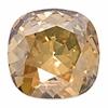 Swarovski Stones 4470 Square 10mm Golden Shadow Crystal 12p